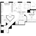 Baltimore 2 Bedroom Floor Plan